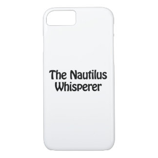 the nautilus whisperer iPhone 7 case