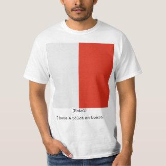 The Navy Flags Shirt (Hotel), Man