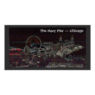 The Navy Pier -- Chicago Poster