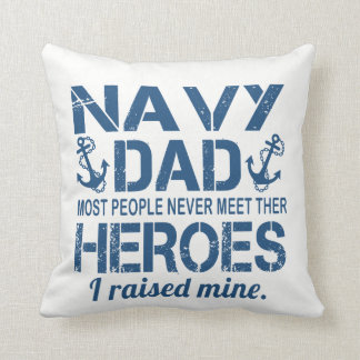 THE NAVY'S DAD THROW PILLOW