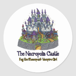 The Necropolis Castle Sticker