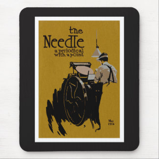 The Needle periodical illustration Mouse Pad