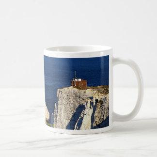 The Needles and lighthouse, Isle of Wight, U.K. Mugs