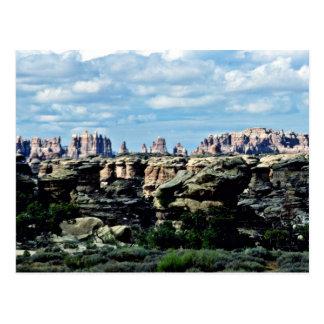 The Needles - Canyonlands National Park Postcard