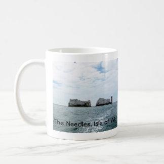 The Needles Classic White Coffee Mug