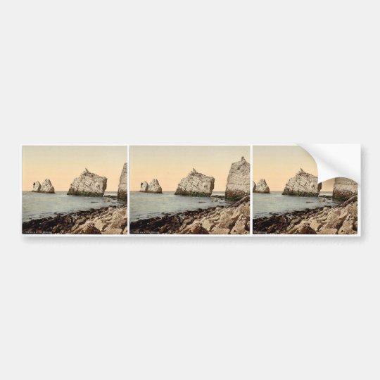 The Needles, I., Isle of Wight, England magnificen Bumper Sticker