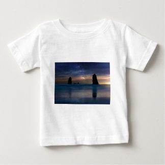 The Needles Rocks Under Starry Night Sky Baby T-Shirt