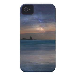 The Needles Rocks Under Starry Night Sky iPhone 4 Case-Mate Case