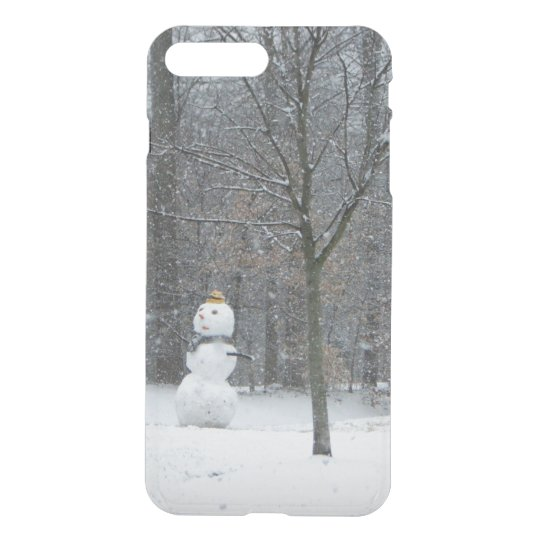 The Neighbour's Snowman Winter Snow Photography iPhone 8 Plus/7 Plus Case