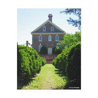 The Nelson House Canvas Print