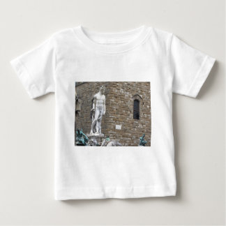 The Neptune fountain and Palazzo Vecchio Baby T-Shirt