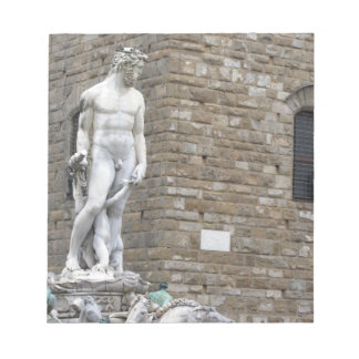 The Neptune fountain and Palazzo Vecchio Notepads