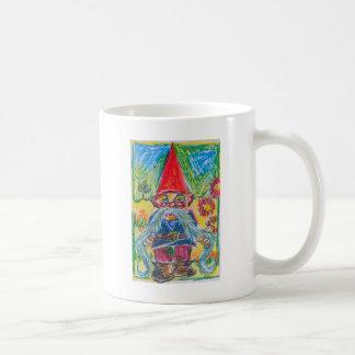The Nest Builder Gnome Classic White Coffee Mug