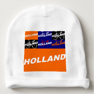 The Netherlands Cycling Baby Beanie