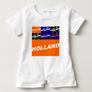 The Netherlands Cycling Baby Romper