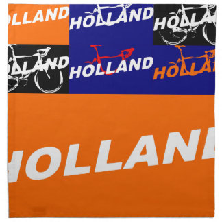 The Netherlands Cycling Napkin