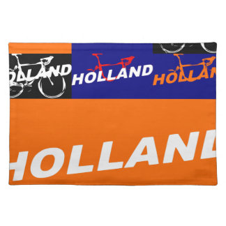 The Netherlands Cycling Placemat