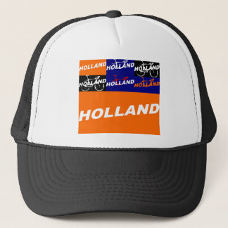 The Netherlands Cycling Trucker Hat
