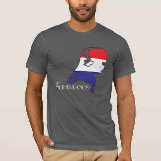 The Netherlands Flag-Map Shirt
