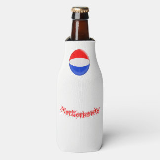 The Netherlands Holland Dutch Flag Bottle Cooler