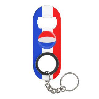 The Netherlands Holland Dutch Flag Keychain Bottle Opener