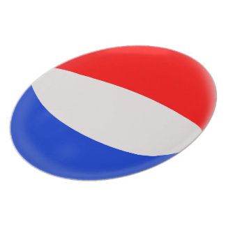 The Netherlands Holland Dutch Flag Plate