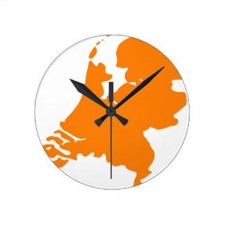 The Netherlands Round Clock