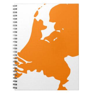 The Netherlands Spiral Notebook