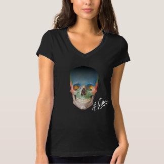 The Netter Skull on a black babydoll T. T-Shirt