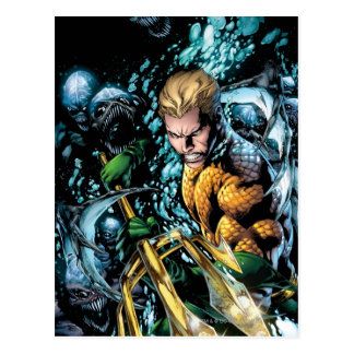 The New 52 - Aquaman #1 Postcard