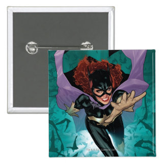 The New 52 - Batgirl #1 2 Inch Square Button