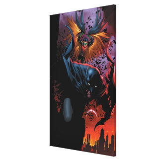 The New 52 - Batman and Robin 1 Canvas Prints