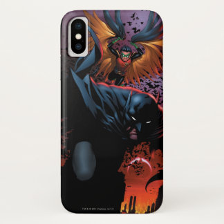 The New 52 - Batman and Robin #1 iPhone X Case