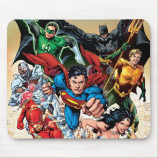 The New 52 Cover #1 4th Print Mouse Pad