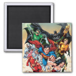 The New 52 Cover #1 4th Print Square Magnet