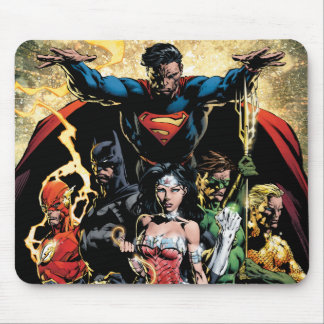 The New 52 Cover #1 Finch Variant Mouse Pad