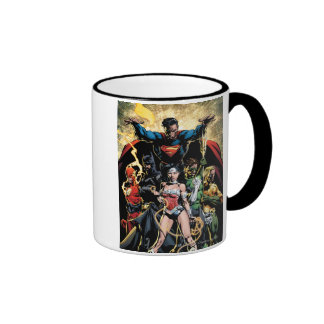 The New 52 Cover #1 Finch Variant Coffee Mugs
