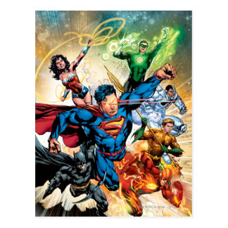 The New 52 Cover 2 Postcards