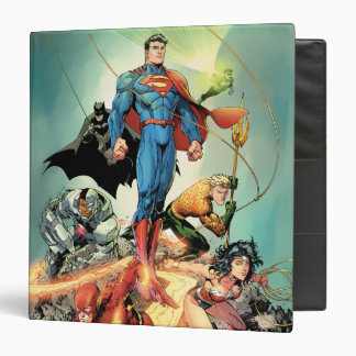 The New 52 Cover #3 Capullo Variant 3 Ring Binders