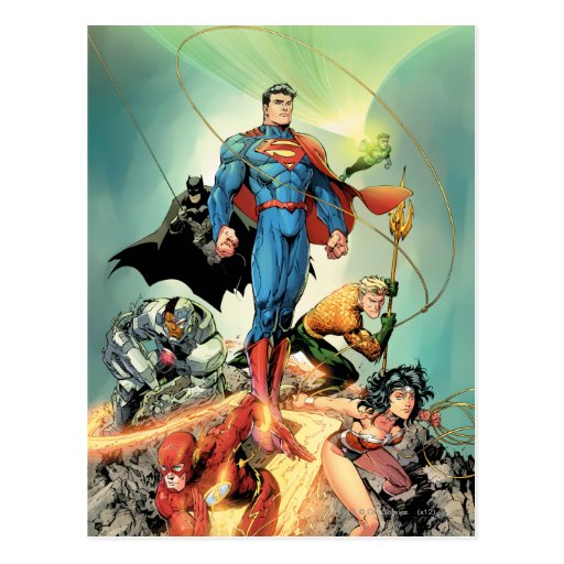The New 52 Cover #3 Capullo Variant Post Card