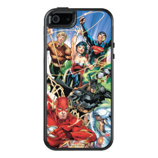 The New 52 - Justice League #1 OtterBox iPhone 5/5s/SE Case