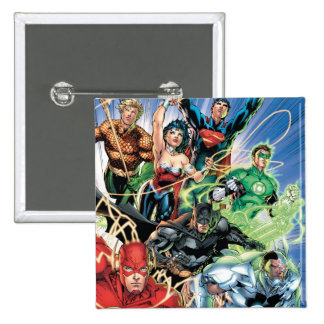 The New 52 - Justice League 1 Pins
