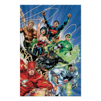 The New 52 - Justice League 1 Posters