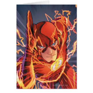 The New 52 - The Flash #1 Greeting Cards
