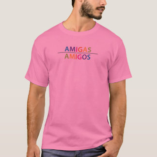 The New AMIGAS / AMIGOS full-color logo T-Shirt