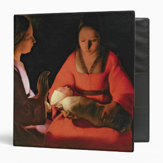 The New Born Child, late 1640s Vinyl Binder