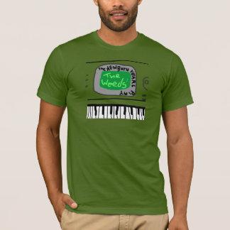 """The New Born Years Play the Weeds"" Cartoon Shirt"