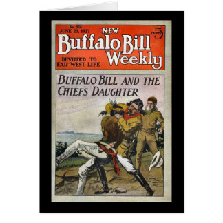 The New Buffalo Bill Weekly No. 250 1917 Card