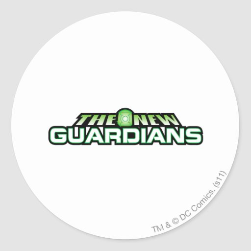 The New Guardians Round Stickers