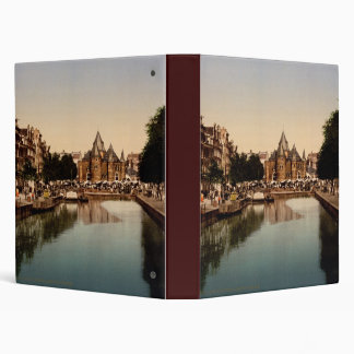 The new market and bourse Amsterdam Vinyl Binder